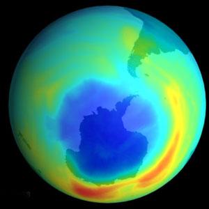 Un mystérieux trou dans la couche d'ozone