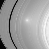 Un phénomène rare observé par Cassini dans l'anneau A