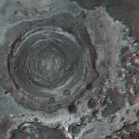 Meridiani Concentric Crater